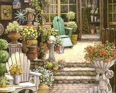 Janet Kruskamp.Добро пожаловать в мой сад. Обсуждение на LiveInternet - Российский Сервис Онлайн-Дневников