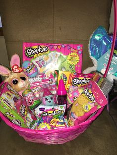 Diy shopkins tutu easter basket shopkins easter baskets and easter shopkins easter basket negle Image collections
