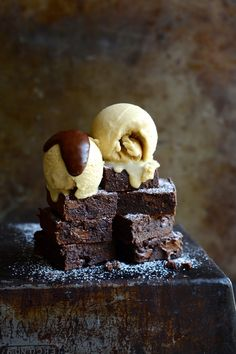Gluten free cashew nut brownies | South African food blog | Food photography |