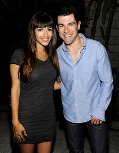 I seriously have a crush on both Hannah Simone and Max Greenfield :)