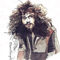 NEVER TOO OLD TO ROCK 'N' ROLL #TheWhistler #JethroTull #Jethro #IanAnderson #Music #Musician #Retrato #Portrait #Acuarela #Watercolor #Drawing #Dibujo #Sketch #Painting #Illustration #Ilustracion