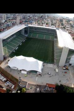 Estadio Raimundo Sampaio. Club America MG. 24.000 pers, abierto en 1950. Brasil