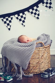 Nascar Newborn Photography