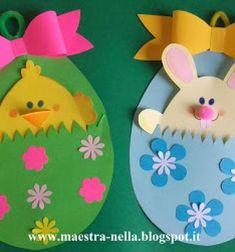Easter egg (chick and bunny) pocket cards // Zsebes húsvéti tojás képeslapok - kivehető figurával // Mindy - craft tutorial collection // #crafts #DIY #craftTutorial #tutorial #KidsCrafts #CraftsForKids #KreatívÖtletekGyerekeknek