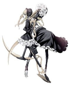 Tags: Anime, No More Heroes, Official Art, Margaret Moonlight