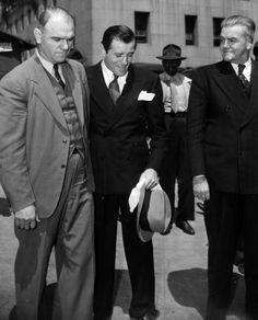 Bugsy Siegel Some may not consider him on of The Greats, but he did build Los Vegas! Even if he did get conned....