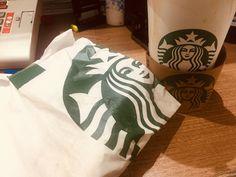 Paper Shopping Bag, Starbucks, Food, Breakfast, Meals, Yemek, Eten