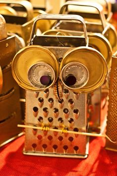 Owl cheese grater