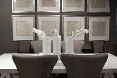 Kelly Hoppen table and chairs exclusively for Coco Republic