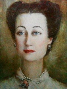 Duchess of Windsor, by Ricardo Magni, 1948.I think this is how the Duke saw her.