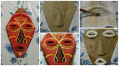 How to make african mask