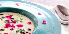 Sopa fria de pepino e iogurte