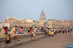 Malecón de La Habana por la tarde - UnCambiodeAires.com