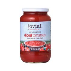 Gluten Free Tomato Sauce. Shop Jovial Organic Diced Tomatoes at wholesale price only at ThriveMarket.com