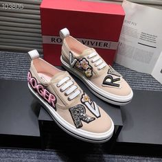 Roger Vivier Shoes, Vans Authentic, Sneakers, Fashion, Tennis, Moda, Slippers, Fashion Styles, Sneaker
