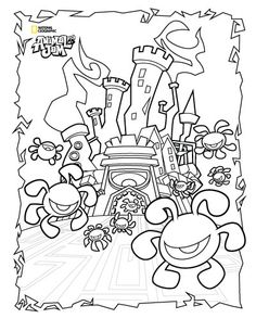 Coloring Pages Of Animal Jam Arctic Wolf Coloring Pages