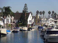 Naples Island, Long Beach.