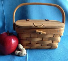 Longaberger Picnic Basket Mini Size for Child by TheFoxAndThimble