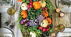 Fall Centerpieces to Complete Your Autumn Feast | Southern Living Succulent Centerpieces, Pumpkin Centerpieces, Simple Centerpieces, Succulents Diy, White Pumpkins, Fall Pumpkins, Fall Home Decor, Autumn Home, Pumpkin Carving Party