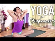 Yoga For Neck & Shoulder Pain - Beginner Stretches For Neck, Back & Shoulder Pain - YouTube