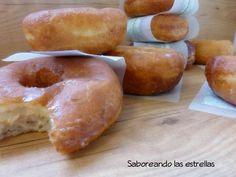 Donuts Glaseados Caseros - receta fácil y paso a paso