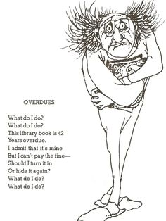 """Overdues"" by Shel Silverstein - ThingLink"