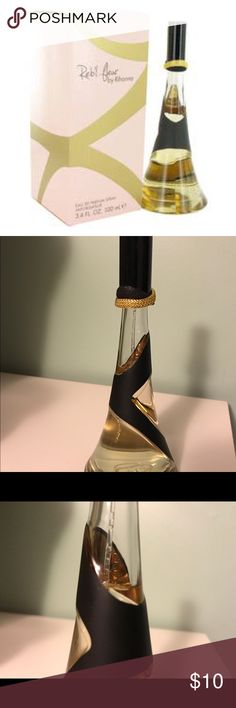 Rebe'l Fleur by Rihanna Perfume. 1.7fl oz. Rebe'l Fleur by Rihanna Perfume. 1.7fl oz. used a little under halfway. Rihanna Other