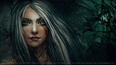 Lady of the Lake by JustAnoR
