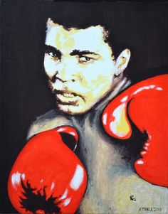 Muhammad Ali  Original Limited Signed Edition Art Prints are available for $ 35.  www.victorminca.com
