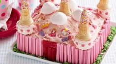 Celebrate the little princess in your life with this stunning Princess Castle Cake made using the Coles Create & Bake range.