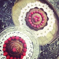 chocolate , banana , dates & raspberries Vegan Sweets, Raspberries, Raw Vegan, Glutenfree, Dates, Bakery, Banana, Organic, Chocolate