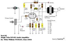 Single Tube amplifier