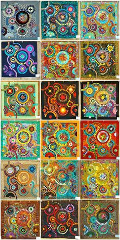 The colourful quilt mosaic (© BeColourful) by cyberphenicia, via Flickr
