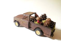 Sold~Vintage Tonka Pickup Truck~ 1960's Toy Truck ~ Rusty Rustic Christmas Shop, Restaurant & Home Decor Display Prop / 0504 by FoxberryHill on Etsy