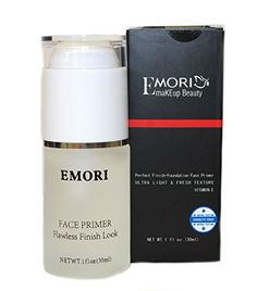 Emori Photo Finish Face Primer (Transparent) 1 Fluid Ounce - Face Foundation Base ** Click image to review more details.