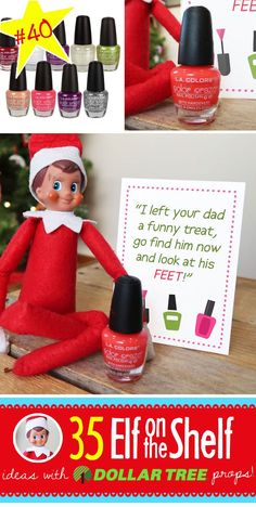 Terrific Images BRAND NEW Creative & Funny Elf on the Shelf Ideas with Dollar Tree props! Suggestions 55 BRAND NEW Creative & Funny Elf on the Shelf Ideas with Dollar Tree props! – Prank – Prank m Christmas Pranks, Funny Christmas Photos, Christmas Activities, Christmas Printables, Christmas Elf, Christmas Humor, Toddler Christmas, Christmas Presents, Awesome Elf On The Shelf Ideas