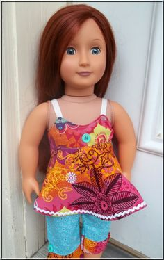 18 Inch Doll Clothes American Girl Two by BarbieBoutiqueBasics