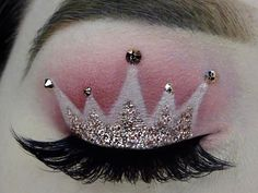 This crown makeup trend is going viral for a reason. Who doesn't want to look and feel like a princess every day?