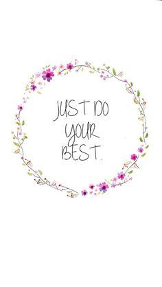You are good enough.