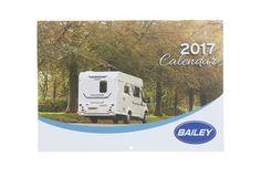 2017 Bailey Motorhome Calendar