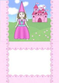 Birthday Princess A5 insert