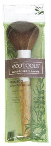 Ecotools Powder Brush***Made from recycled and sustainable materials,Ideal for applying powder and setting makeup,Bamboo Handle,Cruelty-Free Bristles,1% of Sales donated to environmental organizations,.