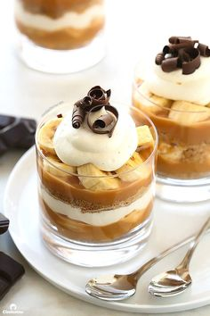 Banoffee Pie Cups | Community Post: 19 Heavenly Ways To Eat A Banana