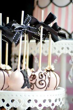 Cake Pops at a Paris Party Paris Party, Paris Themed Birthday Party, Birthday Party Themes, Themed Parties, Birthday Ideas, Paris Themed Cakes, Paris Cakes, Cake Pops, Paris Sweet 16