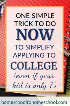 Simplify college application with my Master College Application List plan. AND grab my free template that I made just for you to go along with the video. Homeschool High School, Homeschool Math, Curriculum, College Requirements, Homeschool Transcripts, Apply For College, Religious Books, Multiplication For Kids, College Application