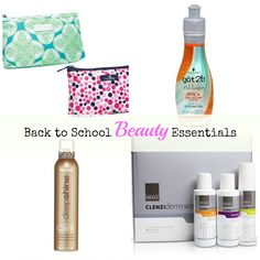 back to school beauty essentials #sponsored