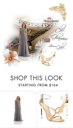 """Untitled #103"" by azrahadzic ❤ liked on Polyvore featuring Brian Atwood and alizeebridal"