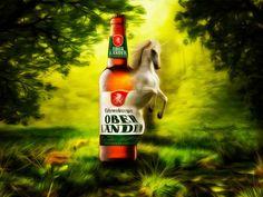 Atelier - Walter Sparr: Fohrenburg die Urkraft des Einhorns entfesselt Corel Painter, Photoshop, Corona Beer, Beer Bottle, Illustration, Drinks, Atelier, Pictures, Drinking