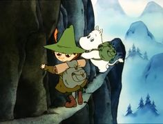 So sweet It remimds me of something that once happened to me Cartoon Games, Cute Cartoon, Cartoon Characters, Cute Wallpaper Backgrounds, Cute Wallpapers, Moomin Valley, Troll Party, Tove Jansson, My Idol