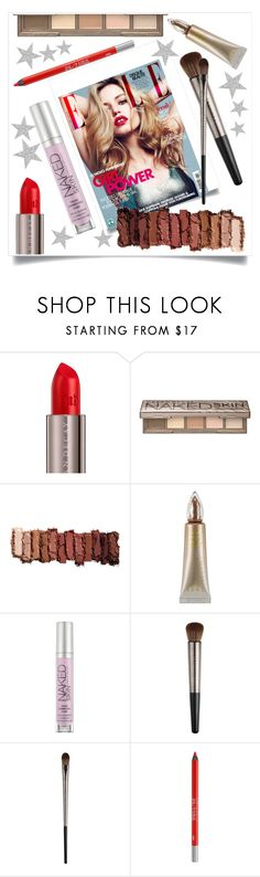 """""""Urban Decay"""" by tina-pieterse ❤ liked on Polyvore featuring beauty, Jagger, Urban Decay, urbandecay and ELLE"""